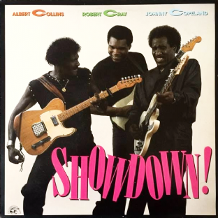 Albert Collins/Robert Cray/Johnny Copeland ‎- Showdown! (LP) (VG-/VG)